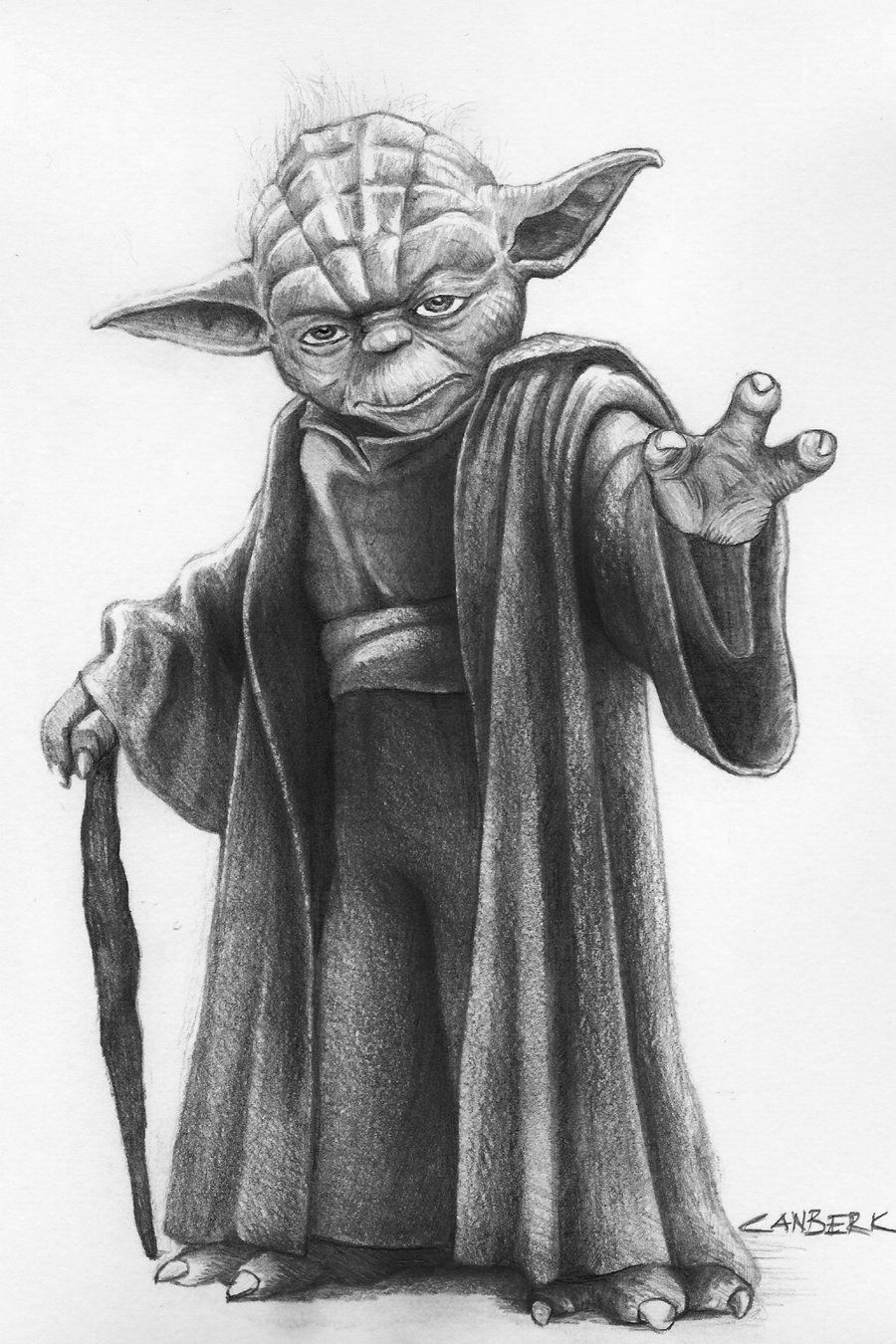 draw yoda how to draw yoda step by step drawingforallnet yoda draw