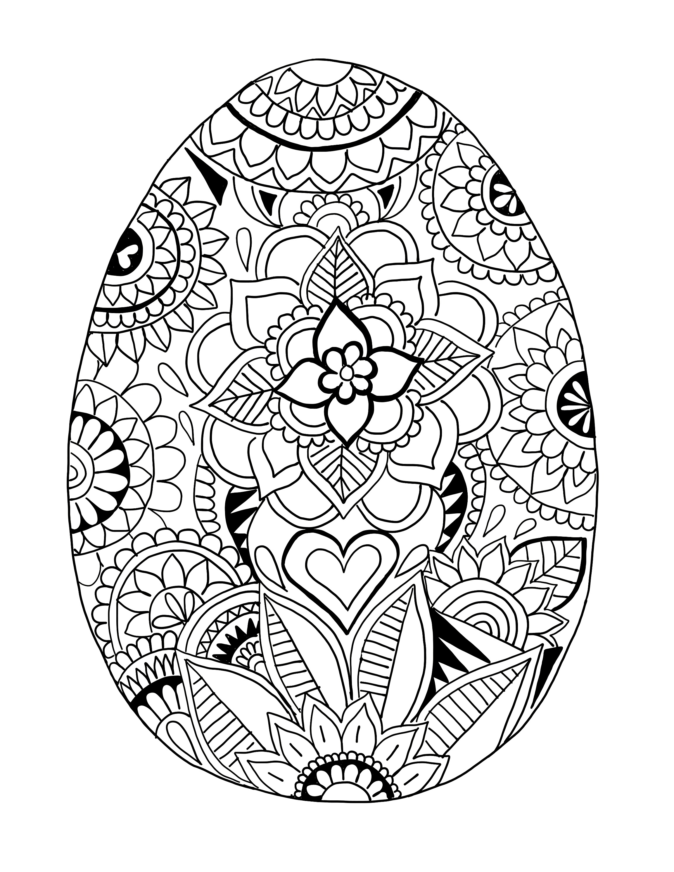 easter egg coloring printables easter egg coloring pages twopartswhimsicalonepartpeculiar egg printables coloring easter