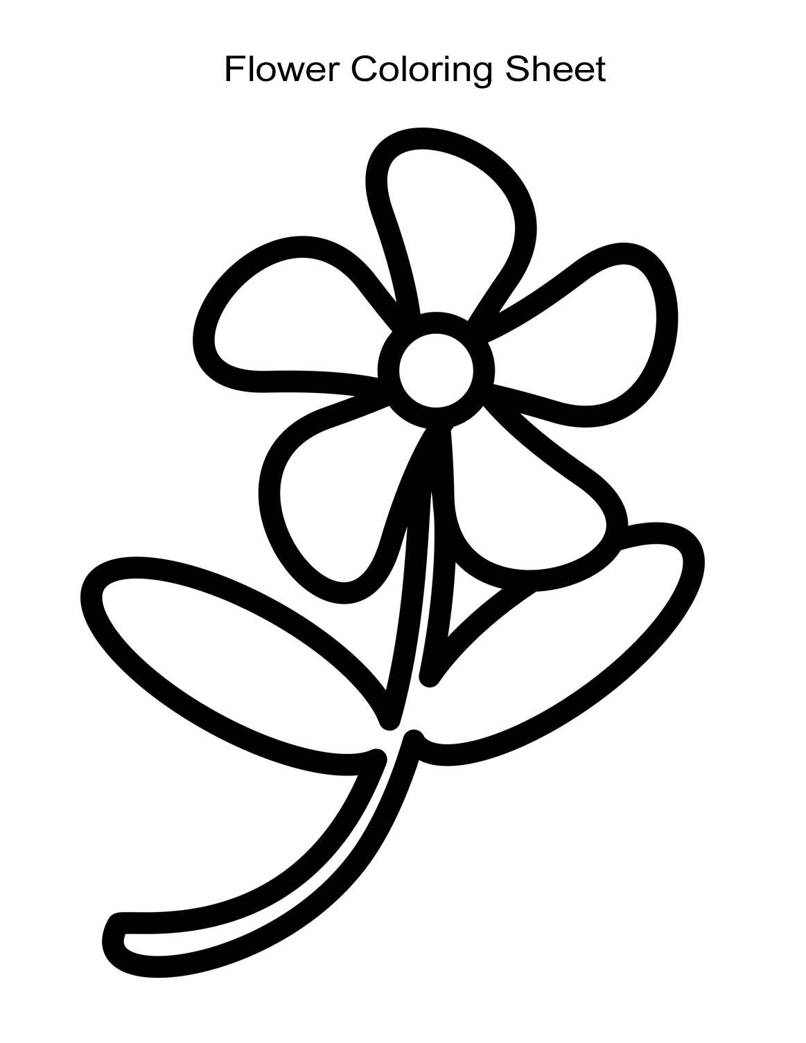 easy coloring pages of flowers 10 flower coloring sheets for girls and boys all esl of easy flowers pages coloring