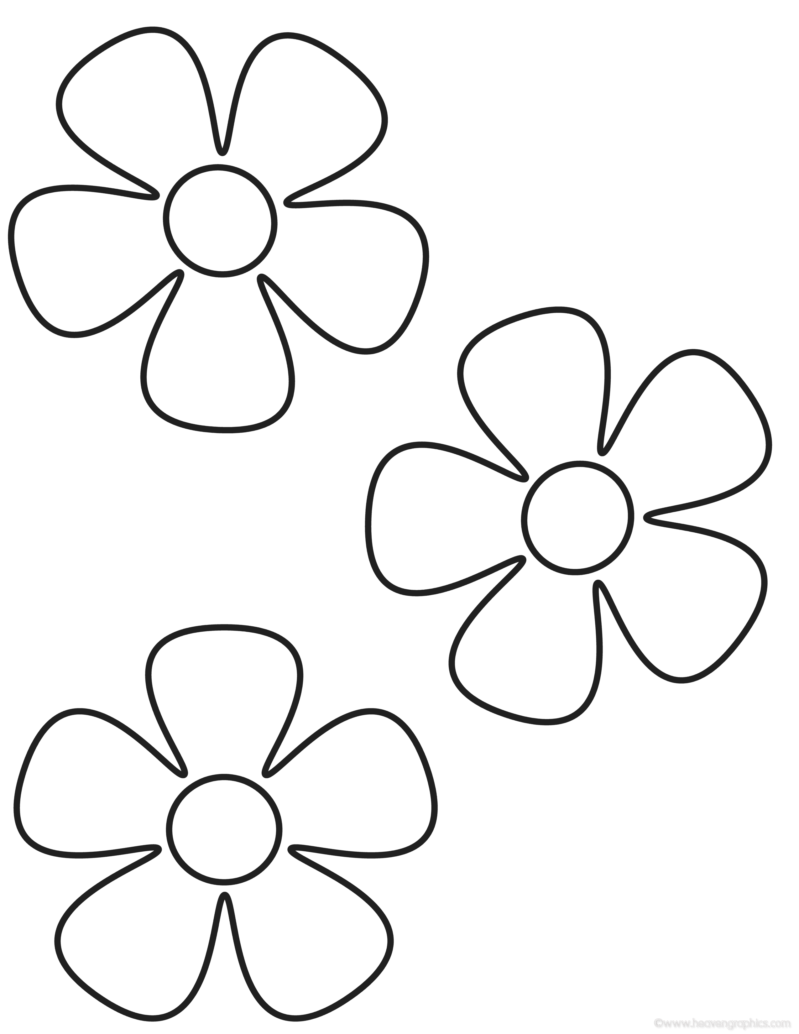 easy coloring pages of flowers simple flower coloring page clipart best of flowers pages coloring easy
