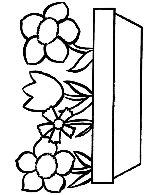 easy coloring pages of flowers simple may coloring pages coloring home of pages easy coloring flowers