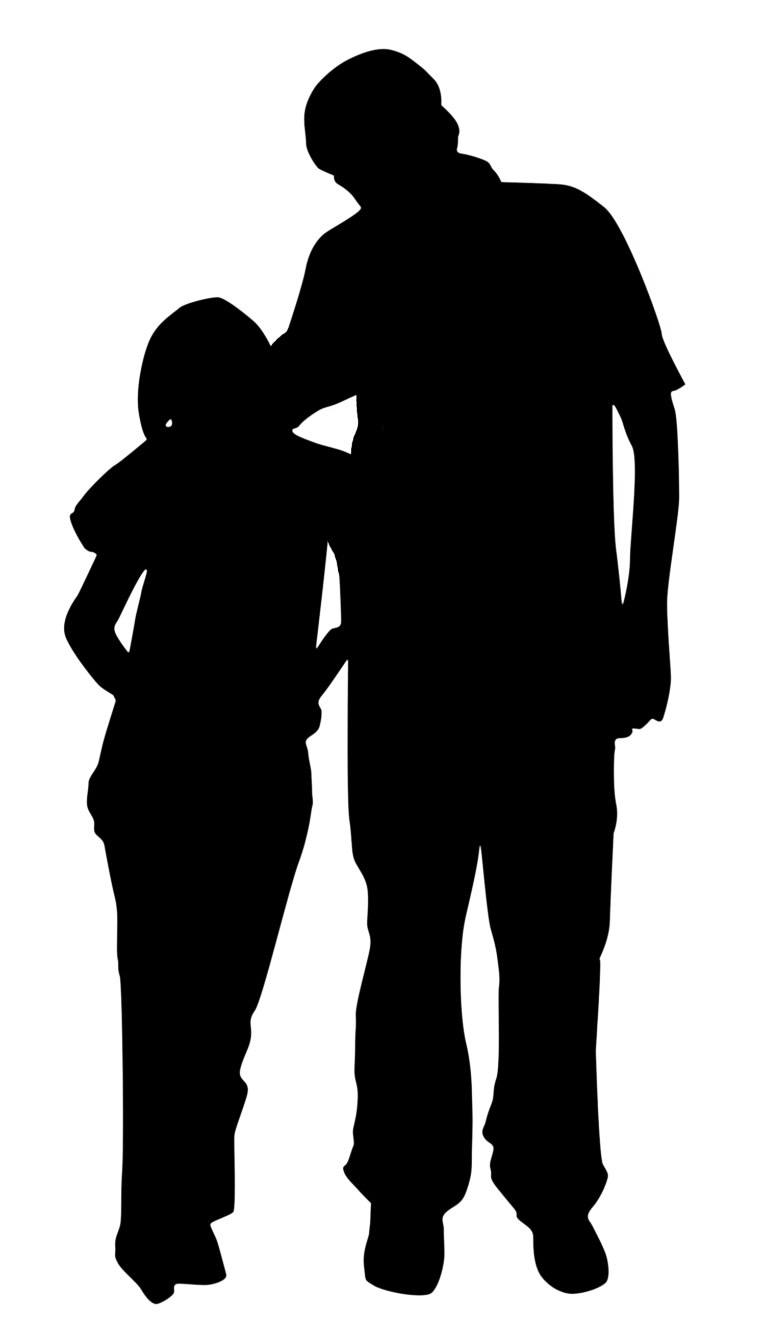father silhouette dad and daughter png transparent dad and daughterpng father silhouette