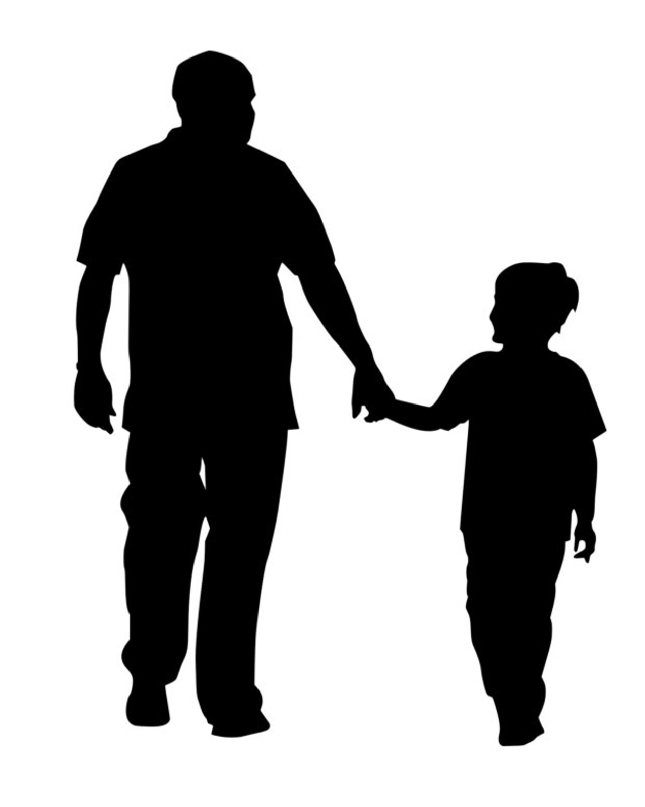 father silhouette father daughter dance silhouette at getdrawings free silhouette father