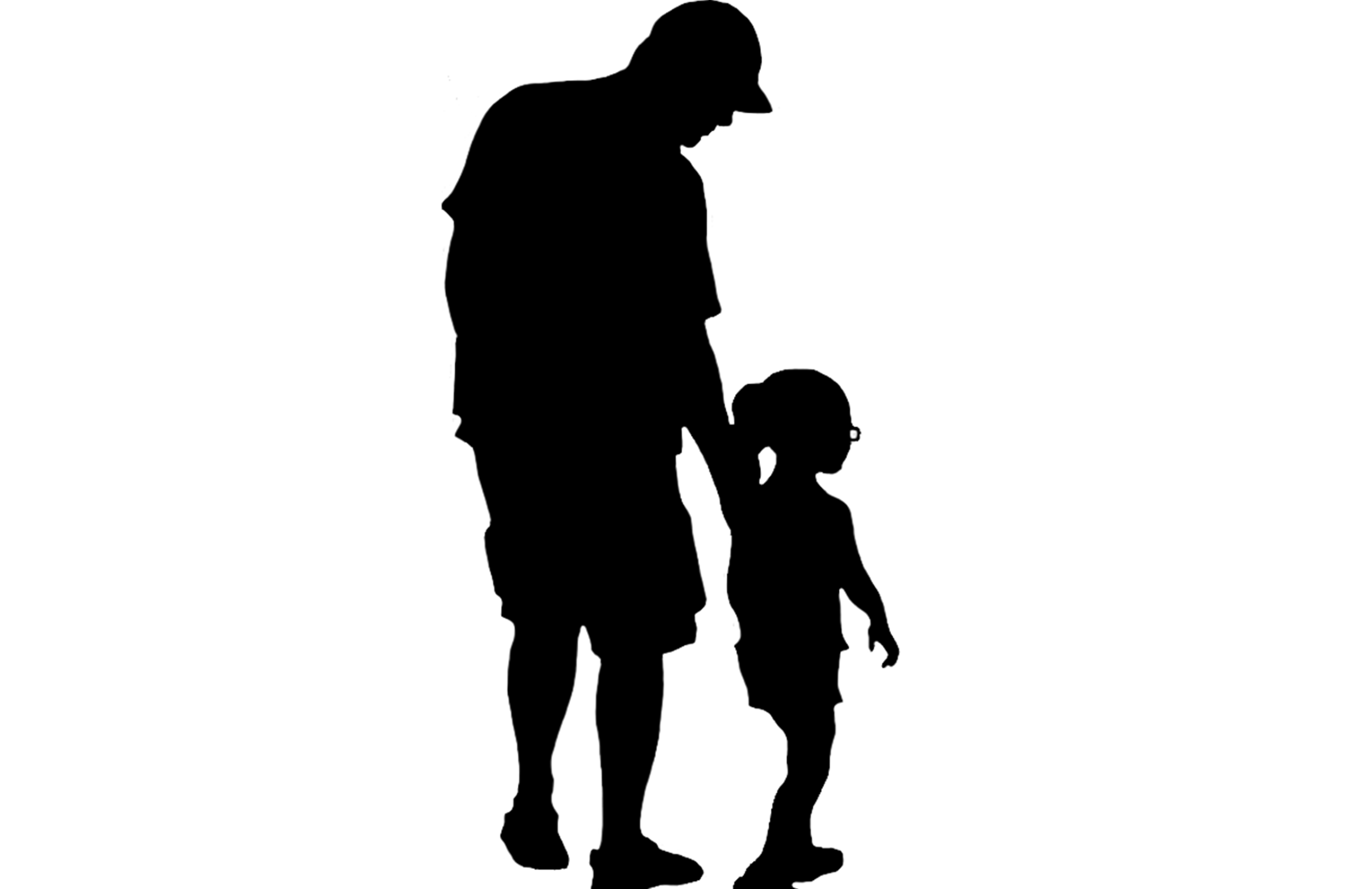 father silhouette quickly and easily create a fun and unique design on walls silhouette father