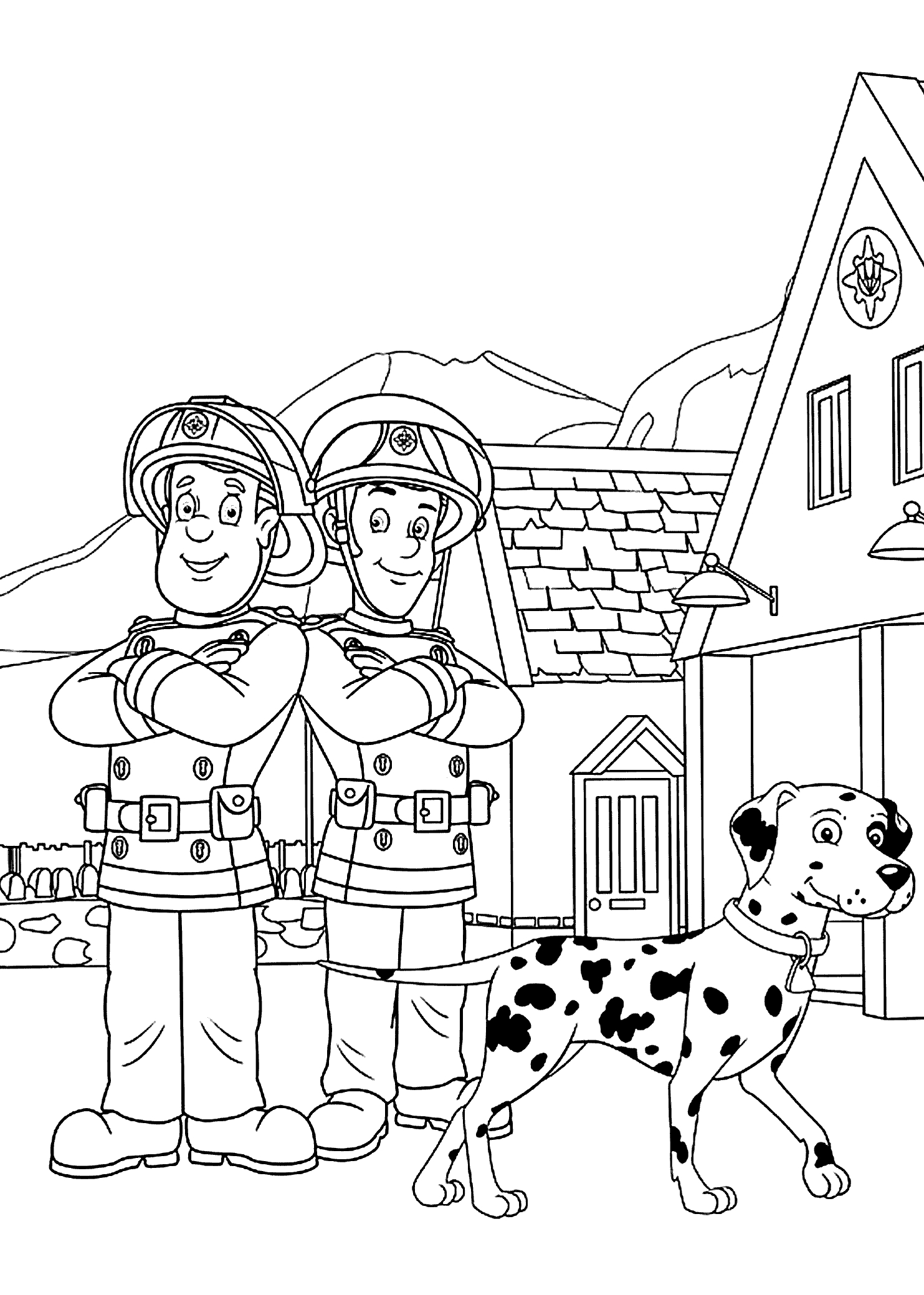 fireman sam coloring pictures fireman sam coloring pages to download and print for free sam fireman coloring pictures