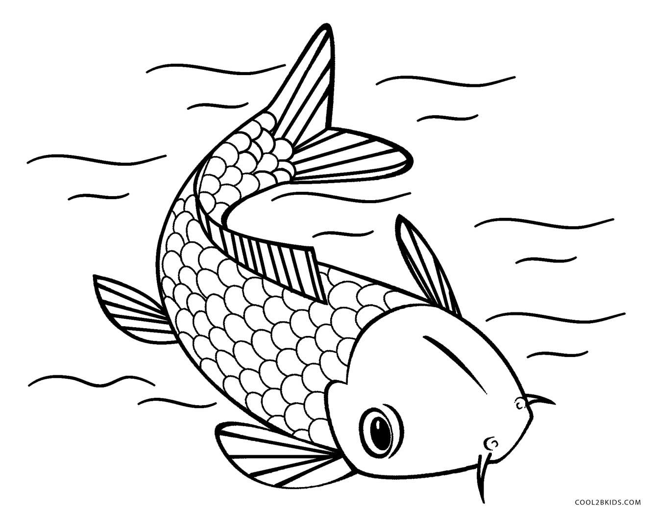 fish color pages fish coloring pages color fish pages
