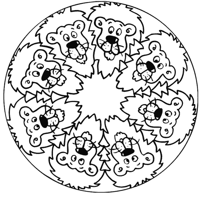 free mandala coloring pages for kids coloring pages blog download coloring pages for kids kids for coloring mandala free pages