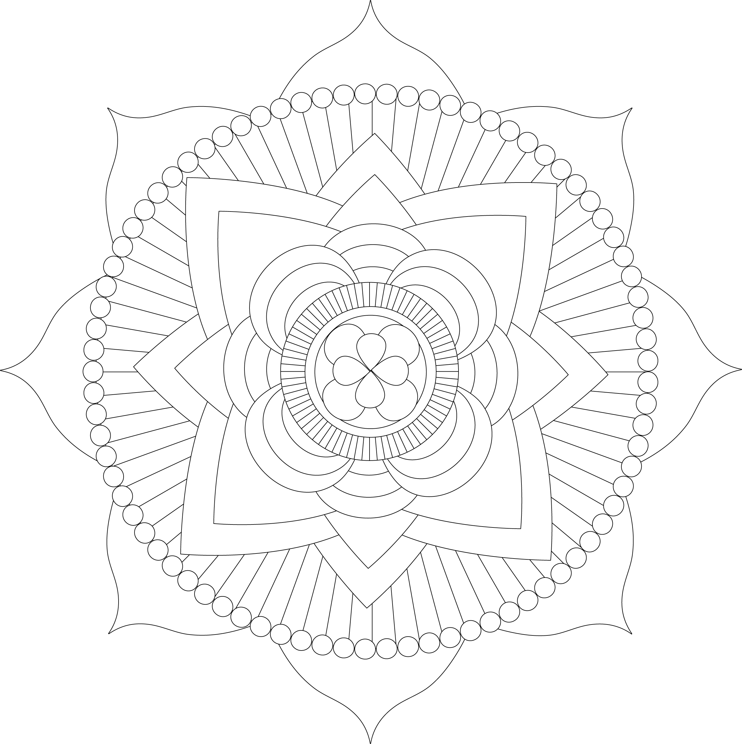 free mandala coloring pages for kids mandala coloring pages coloringpages4kidzcom mandala pages kids free coloring for