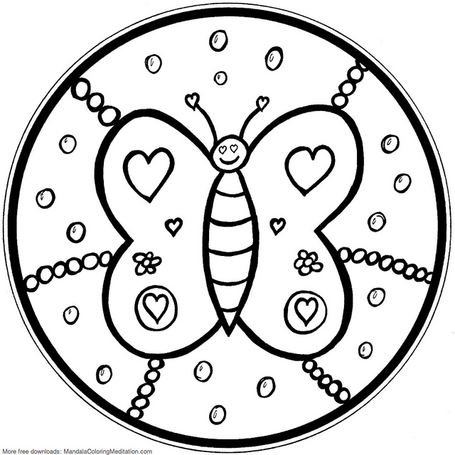 free mandala coloring pages for kids mandalas to color for children  mandalas kids coloring pages kids mandala for free coloring pages