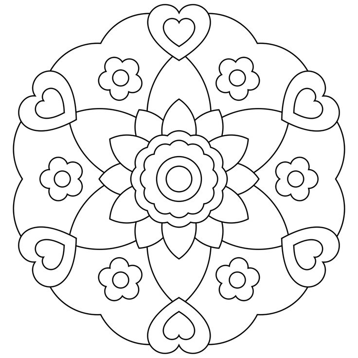 free mandala coloring pages for kids printable mandala coloring pages for kids coloring for kids mandala free pages