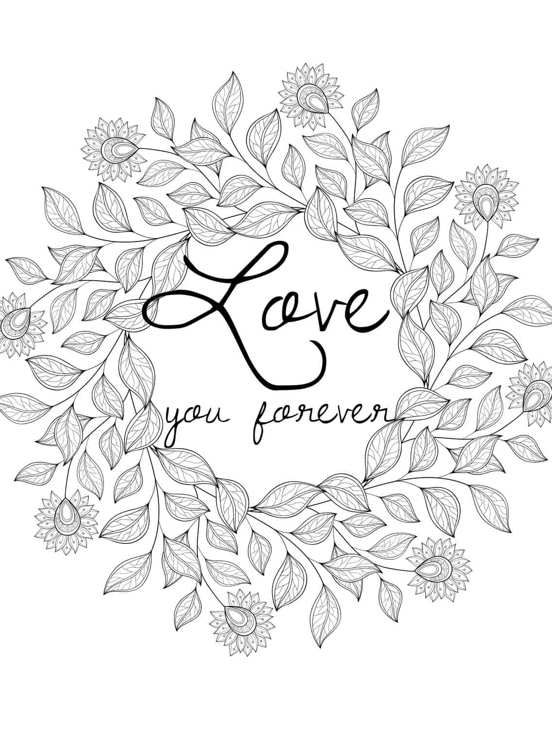 free printable coloring pages for adults 4 free adult coloring pages for valentine39s day that will adults free printable for pages coloring