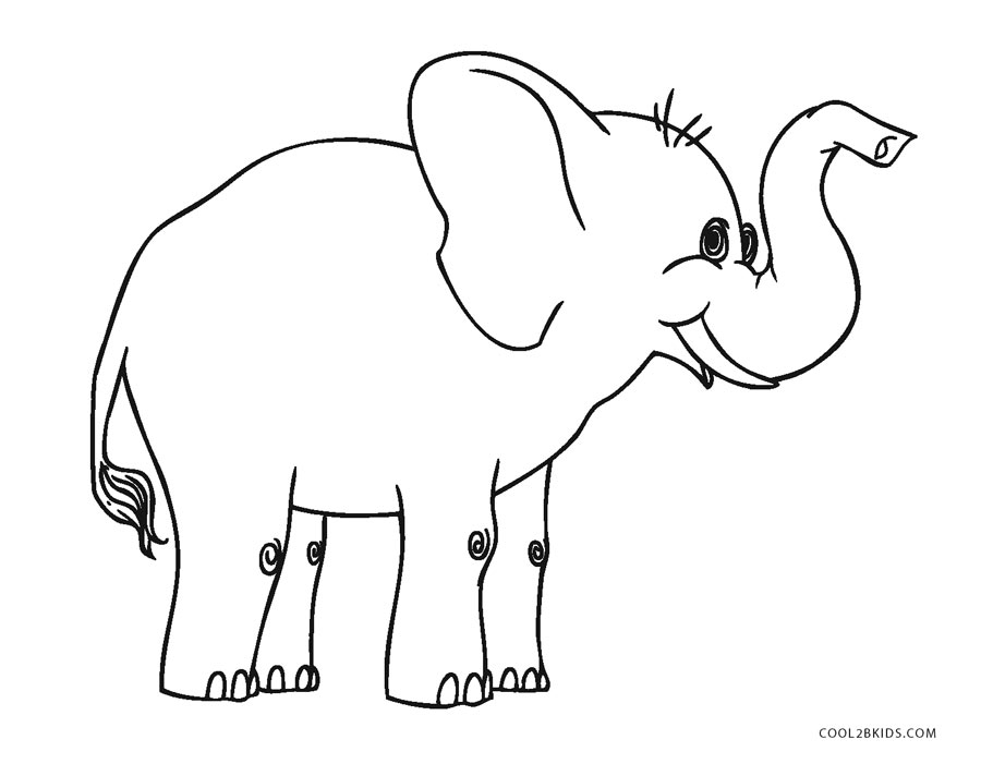 free printable elephant coloring pages baby elephant coloring pages to download and print for free free elephant pages coloring printable