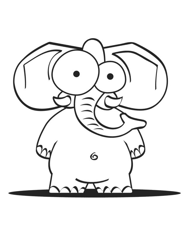 free printable elephant coloring pages elephant coloring pages for kids printable for free printable pages elephant free coloring
