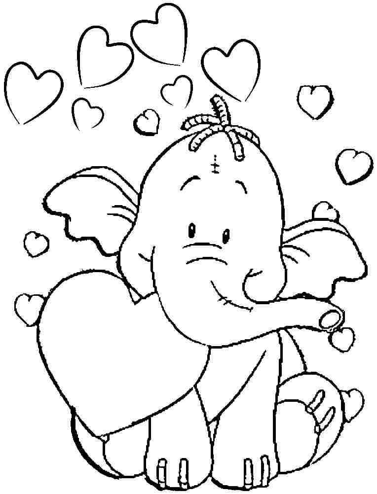 free printable elephant coloring pages elephant coloring pages printable free printable kids coloring printable elephant free pages