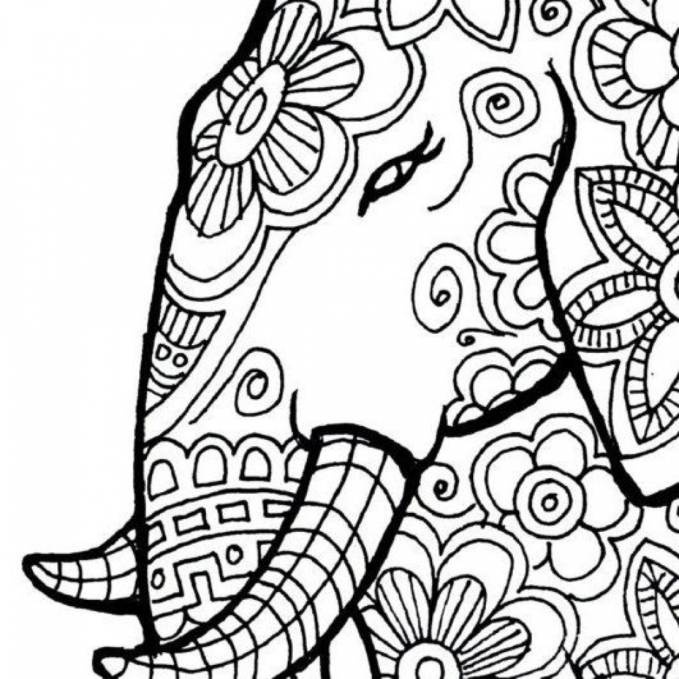 free printable elephant coloring pages free printable elephant coloring pages for kids printable elephant pages free coloring