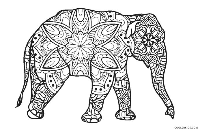 free printable elephant coloring pages free printable elephant coloring pages pages coloring free elephant printable