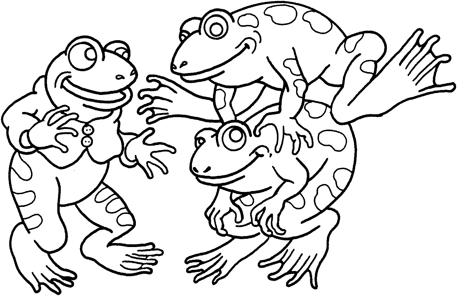 frogs to color for free free printable frog coloring pages for kids animal place color for to free frogs