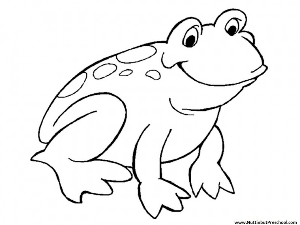 frogs to color for free get this easy frog coloring pages for preschoolers 8ps18 free to for color frogs