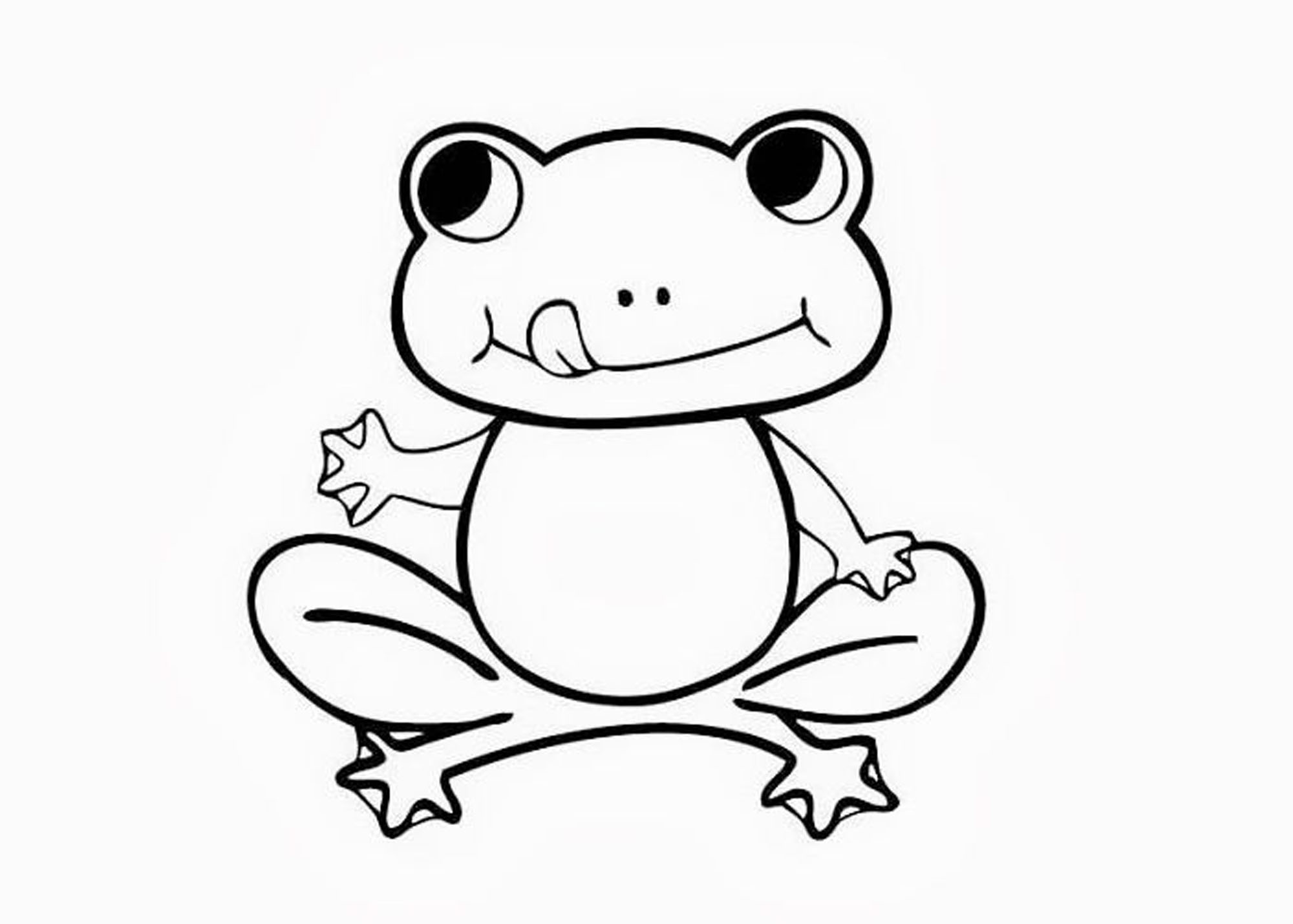 frogs to color for free print download frog coloring pages theme for kids free color to for frogs