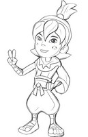 fruit ninja coloring pages coloring book pirate ninja by snafudave on deviantart ninja pages fruit coloring