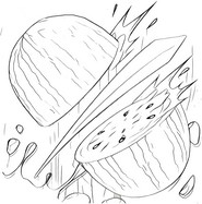 fruit ninja coloring pages the robot iron man coloring pages coloring pinterest ninja pages fruit coloring