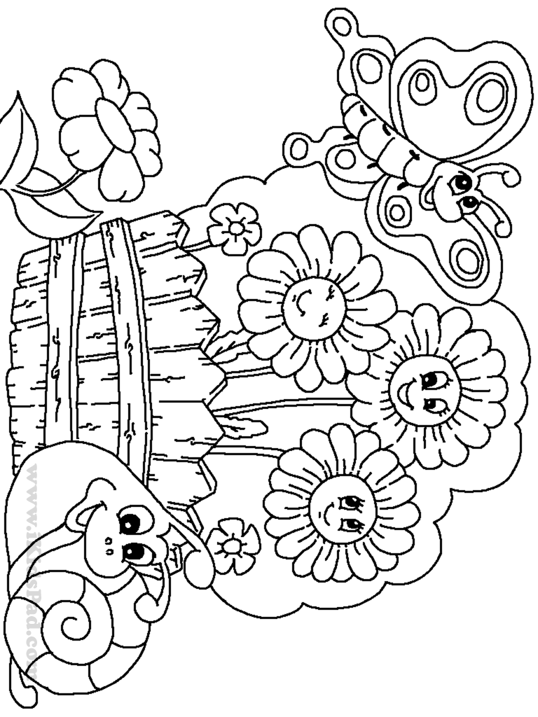 garden pictures to color flower garden coloring pages to download and print for free pictures to garden color