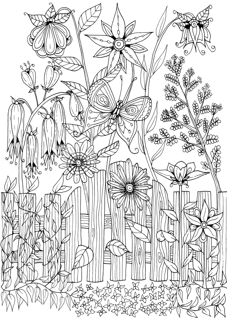 garden pictures to color garden flowers coloring pages printable wallpaper desktop pictures to garden color