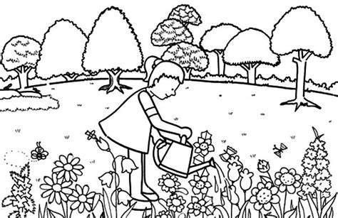 garden pictures to color gardening coloring pages  best coloring pages for kids garden pictures color to