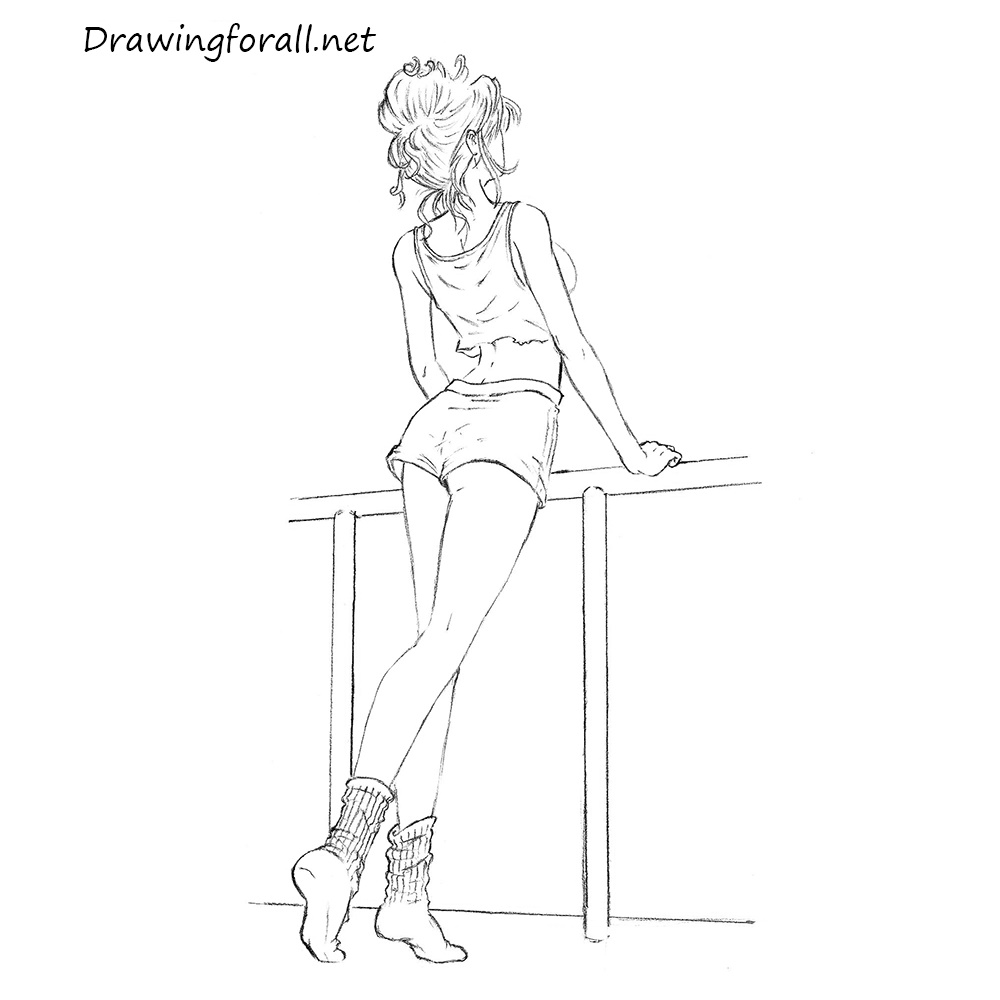 girl to draw how to draw a chibi girl drawingforallnet to draw girl