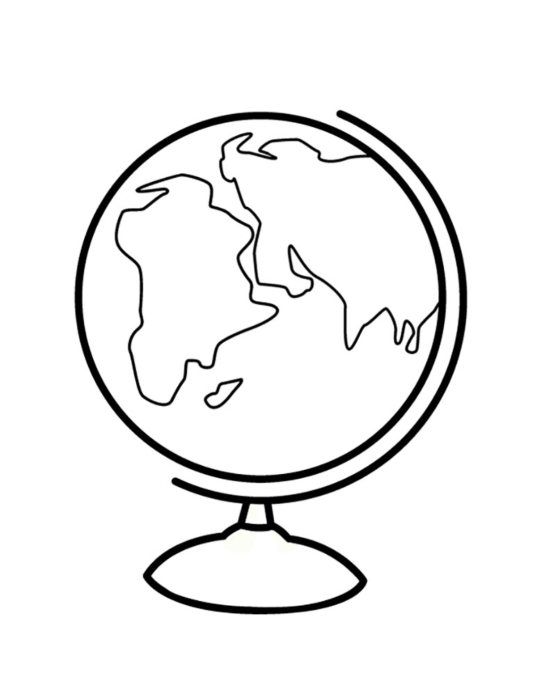 globe coloring page globe coloring page free download on clipartmag globe coloring page