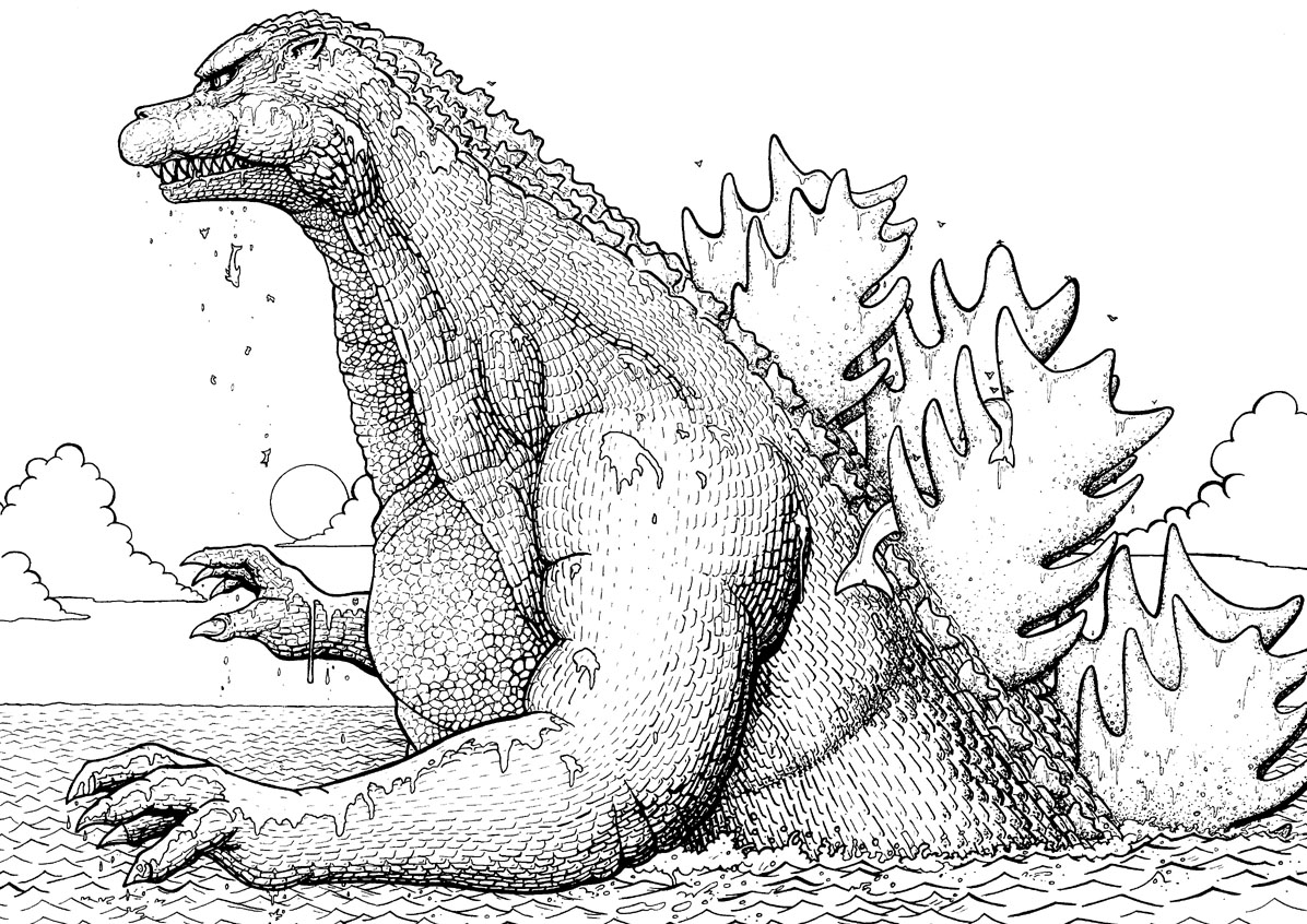 godzilla coloring pictures how to draw godzilla godzilla 2014 movie drawing godzilla coloring pictures