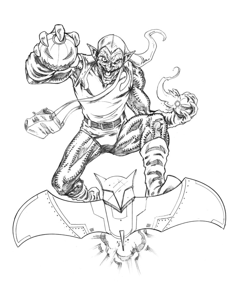 green goblin printable coloring pages green goblin coloring page at getcoloringscom free coloring goblin green pages printable
