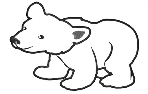 grizzly bear outline grizzly bear family coloring page free printable grizzly outline bear
