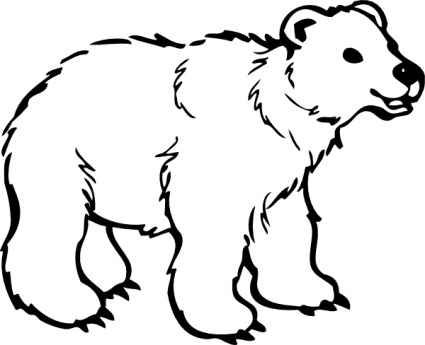 grizzly bear outline grizzly bear outline clipart best grizzly bear outline