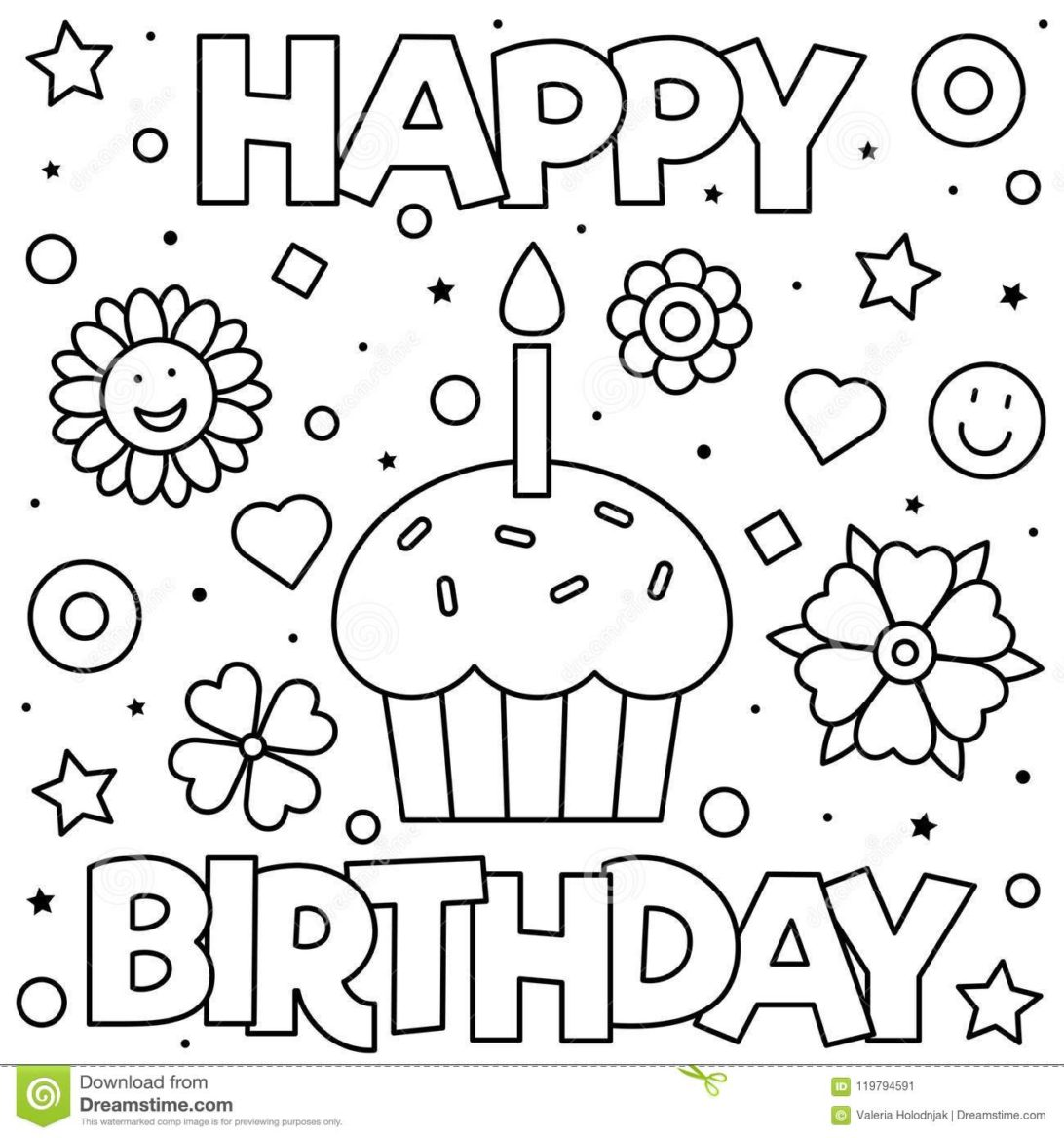 happy 7th birthday coloring pages coloring pages 43 astonishing happy birthday coloring happy birthday 7th coloring pages