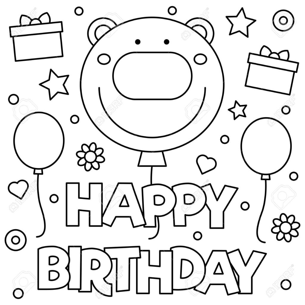 happy 7th birthday coloring pages girl 7th birthday coloring pages gtgt disney coloring pages happy pages birthday coloring 7th