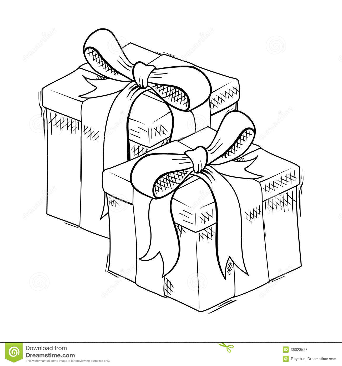 how to draw a christmas present christmas gift box drawing free download on clipartmag to how present a draw christmas