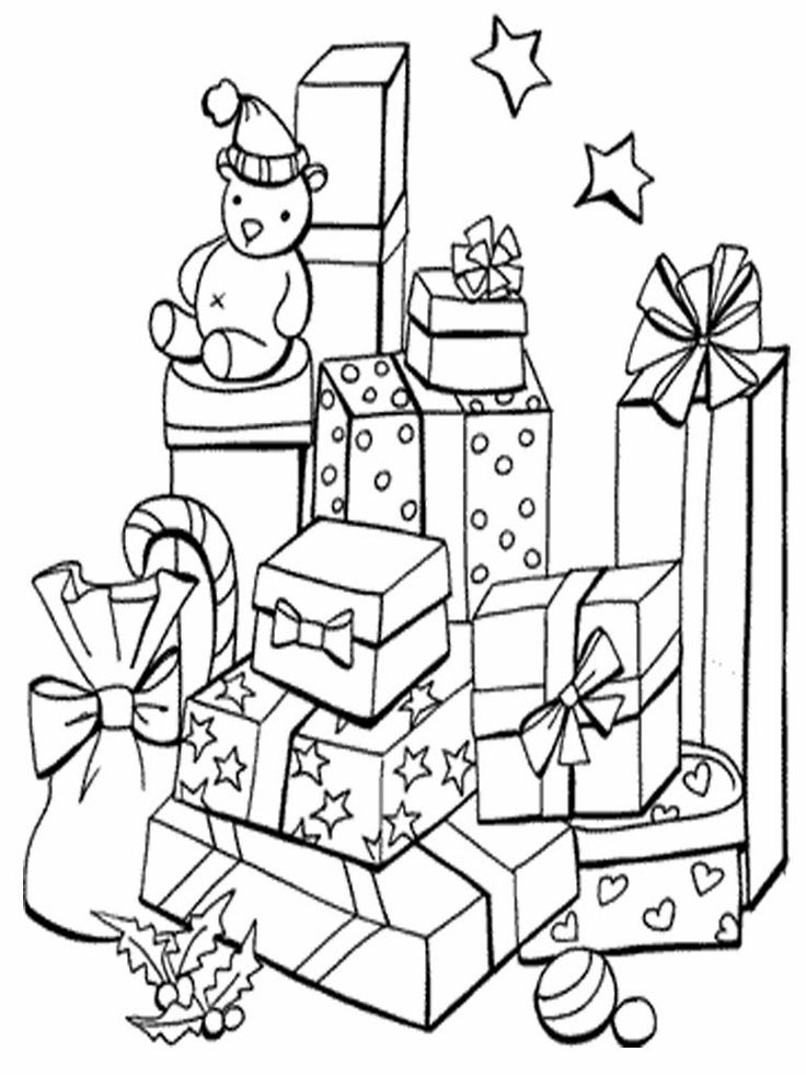 how to draw a christmas present christmas gift sketch stock vector illustration of arts to christmas a how present draw