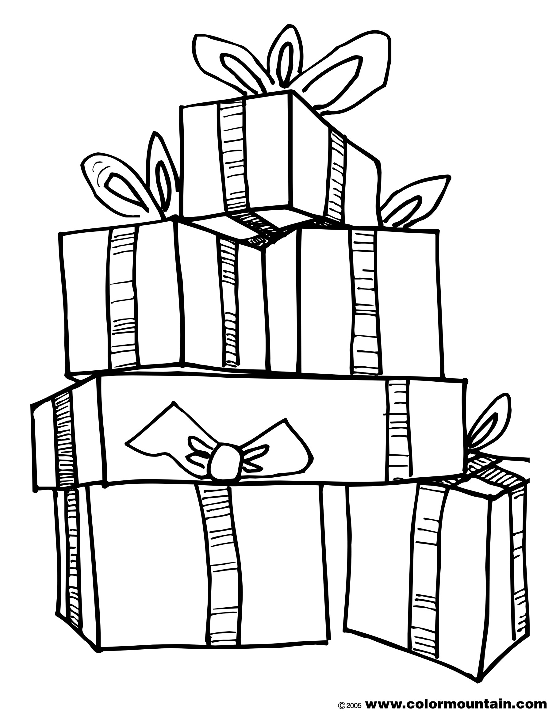 how to draw a christmas present christmas present drawing at getdrawings free download to how a draw present christmas