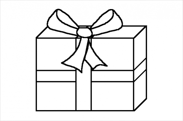 how to draw a christmas present free 15 christmas drawings in ai to draw christmas present a how