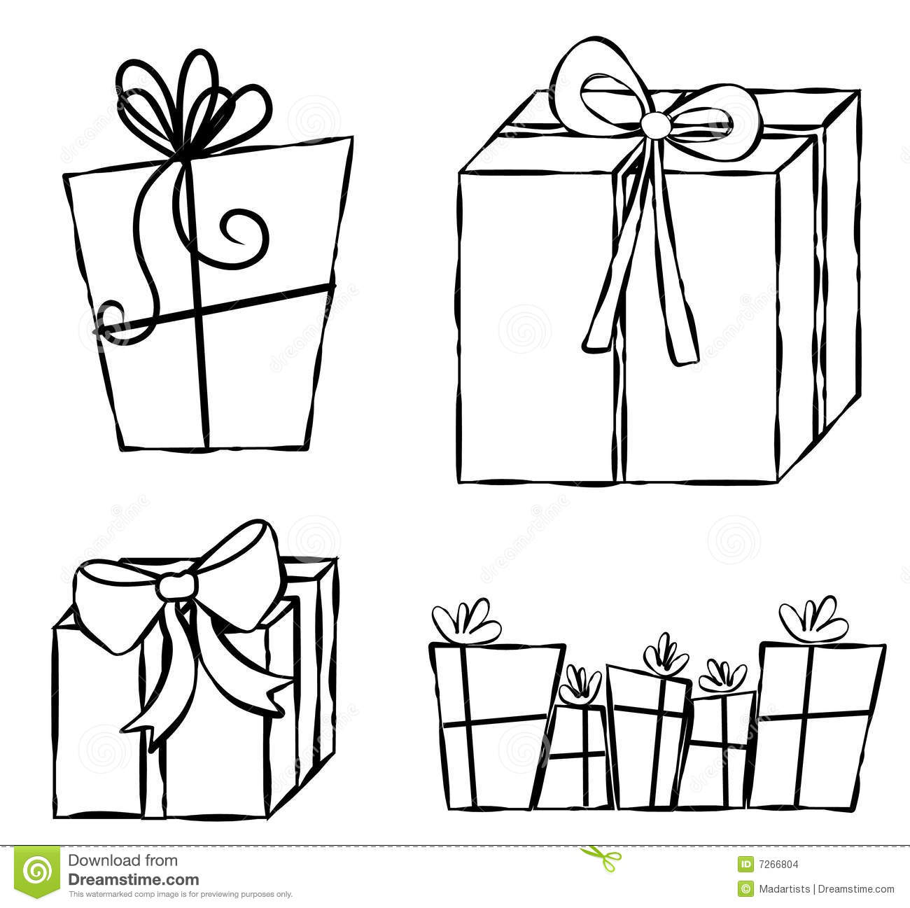 how to draw a christmas present gift clipart black and white free download best gift draw present a how to christmas