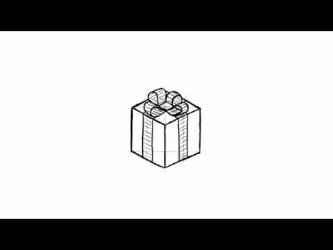 how to draw a christmas present how to draw a christmas present step by step drawing christmas draw how present to a