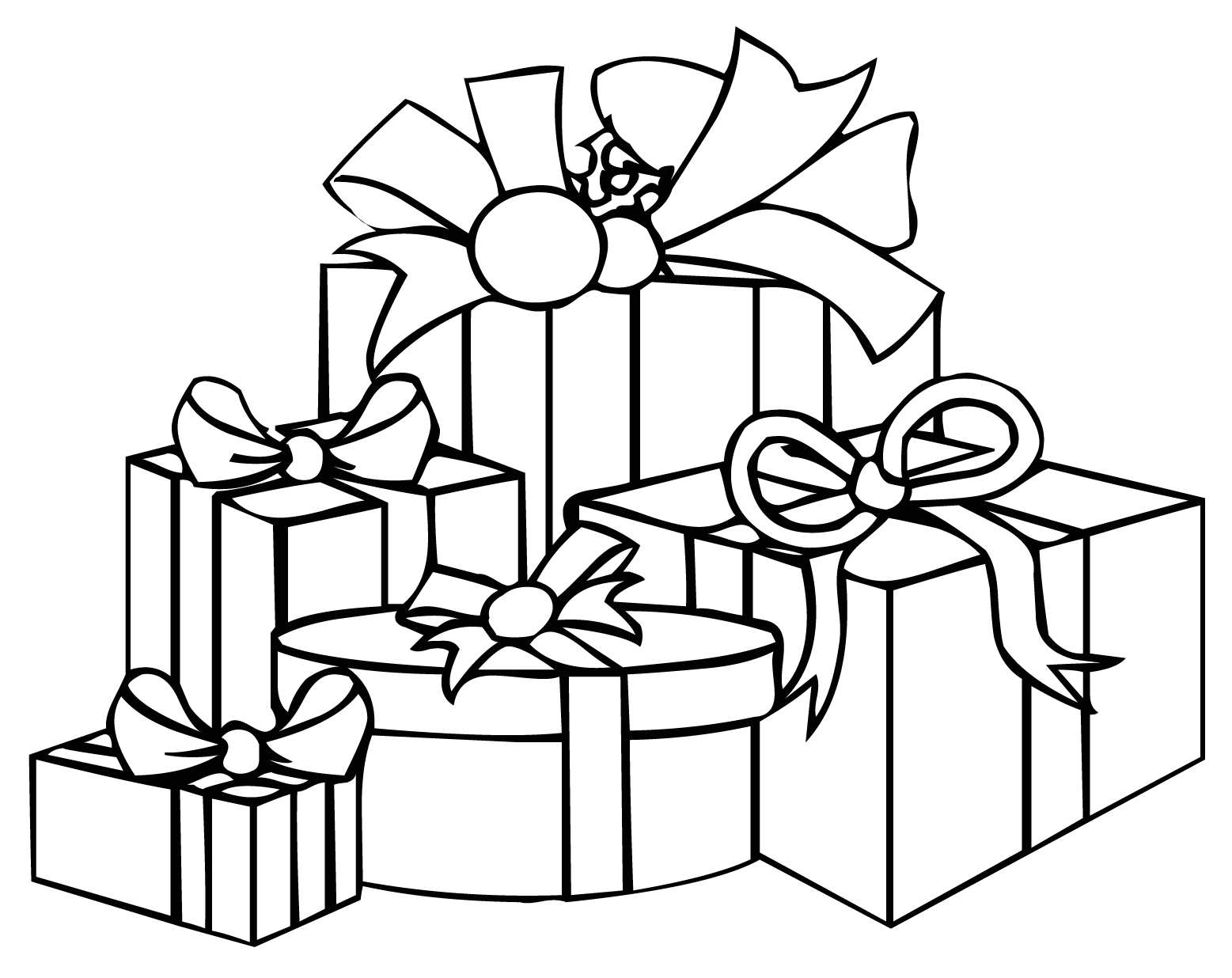 how to draw a christmas present present outline present clipart outline free download jpg to christmas a present draw how