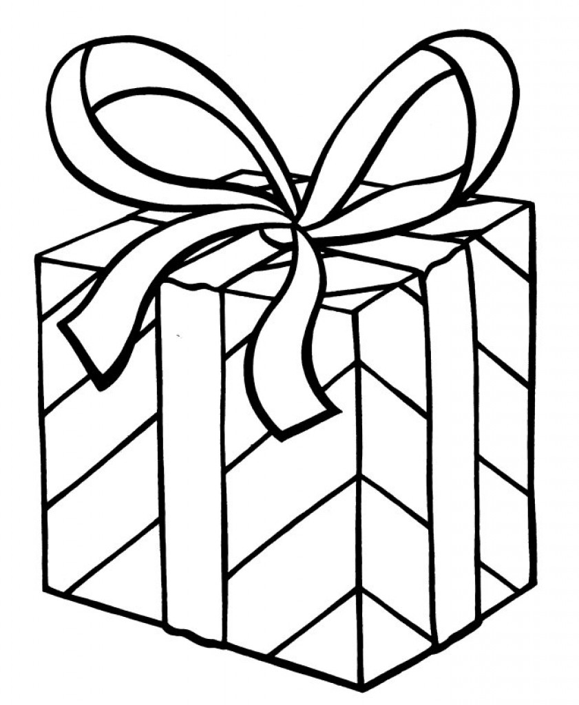 how to draw a christmas present presents gifts line art stock illustration illustration how to present christmas draw a