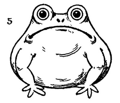 how to draw a frog easy how to draw a frog draw central a easy to frog how draw