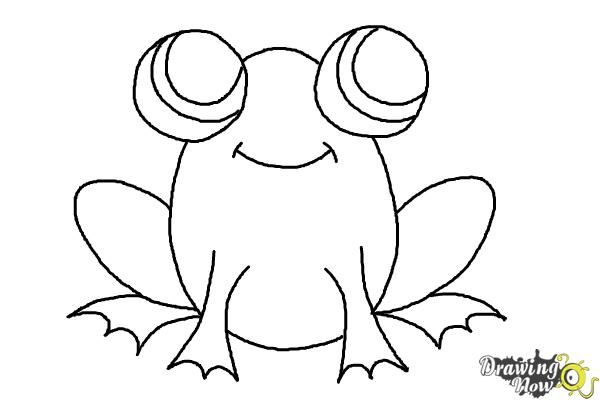 how to draw a frog easy how to draw a simple frog step 8 easy drawings easy a frog to how draw