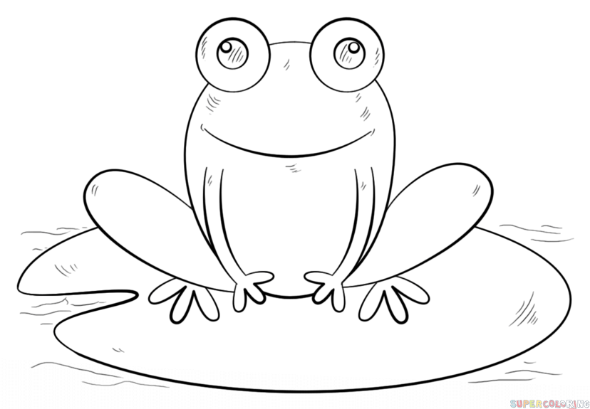 how to draw a frog easy learn how to draw a frog in two different poses the first how a easy draw frog to