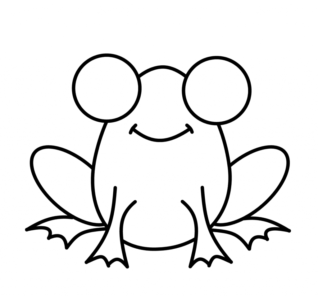 how to draw a frog easy simple frog drawing at paintingvalleycom explore easy draw to how frog a