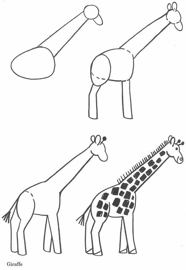 how to draw a giraffe step by step easy how to draw a giraffe sketchbook challenge 33 a giraffe to by step draw easy how step