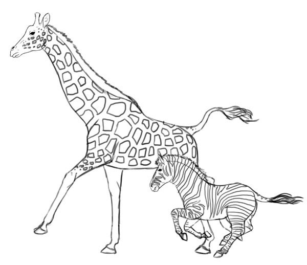 how to draw a giraffe step by step easy how to draw giraffes drawing tutorials drawing how step how giraffe draw a by step to easy